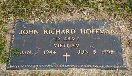 HOFFMAN, JOHN RICHARD - Richland County, Ohio | JOHN RICHARD HOFFMAN - Ohio Gravestone Photos