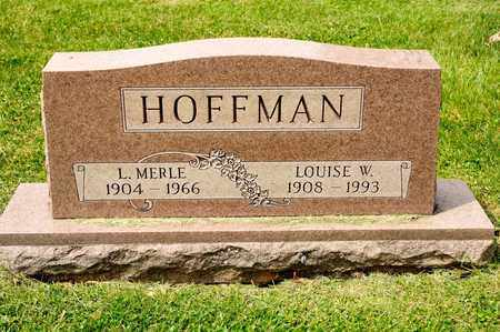 HOFFMAN, L MERLE - Richland County, Ohio | L MERLE HOFFMAN - Ohio Gravestone Photos