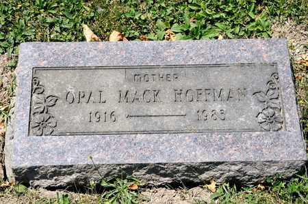 MACK HOFFMAN, OPAL - Richland County, Ohio | OPAL MACK HOFFMAN - Ohio Gravestone Photos