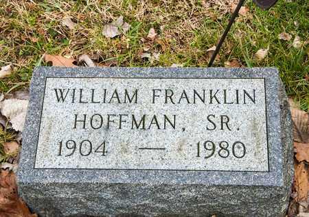 HOFFMAN SR, WILLIAM FRANKLIN - Richland County, Ohio | WILLIAM FRANKLIN HOFFMAN SR - Ohio Gravestone Photos