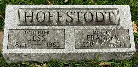 HOFFSTODT, FRANCES - Richland County, Ohio | FRANCES HOFFSTODT - Ohio Gravestone Photos