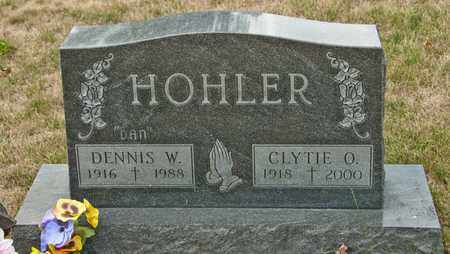 HOHLER, DENNIS W - Richland County, Ohio | DENNIS W HOHLER - Ohio Gravestone Photos