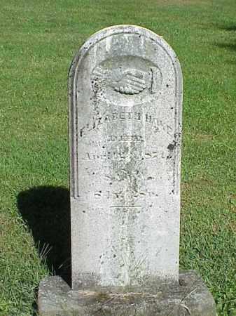 HOKE, ELIZABETH - Richland County, Ohio | ELIZABETH HOKE - Ohio Gravestone Photos