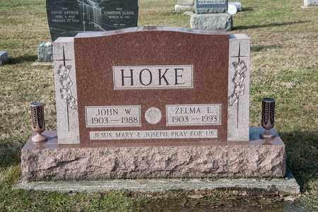 HOKE, JOHN W - Richland County, Ohio | JOHN W HOKE - Ohio Gravestone Photos