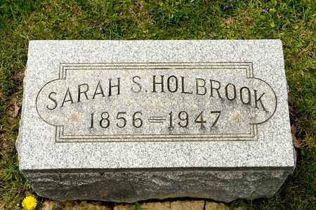 HOLBROOK, SARAH S - Richland County, Ohio | SARAH S HOLBROOK - Ohio Gravestone Photos