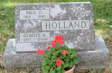 HOLLAND, PAUL O - Richland County, Ohio | PAUL O HOLLAND - Ohio Gravestone Photos