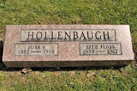 HOLLENBAUGH, BURR V - Richland County, Ohio | BURR V HOLLENBAUGH - Ohio Gravestone Photos