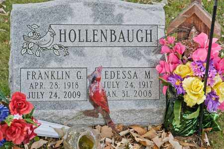 HOLLENBAUGH, EDESSA M - Richland County, Ohio | EDESSA M HOLLENBAUGH - Ohio Gravestone Photos