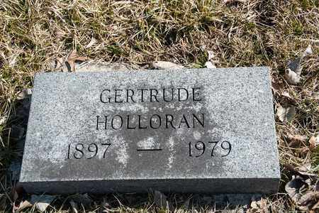 HOLLORAN, GERTRUDE - Richland County, Ohio | GERTRUDE HOLLORAN - Ohio Gravestone Photos