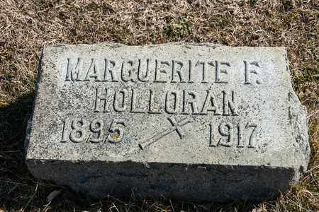 HOLLORAN, MARGUERITE F - Richland County, Ohio | MARGUERITE F HOLLORAN - Ohio Gravestone Photos