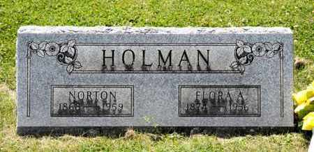 HOLMAN, NORTON - Richland County, Ohio | NORTON HOLMAN - Ohio Gravestone Photos