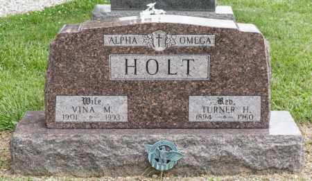 HOLT, TURNER H - Richland County, Ohio | TURNER H HOLT - Ohio Gravestone Photos