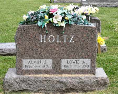 HOLTZ, LOWIE A - Richland County, Ohio | LOWIE A HOLTZ - Ohio Gravestone Photos
