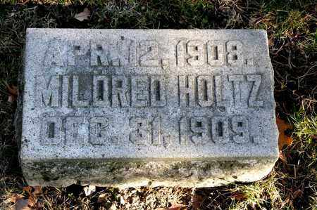 HOLTZ, MILDRED - Richland County, Ohio | MILDRED HOLTZ - Ohio Gravestone Photos