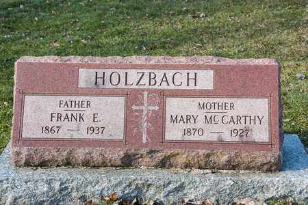 HOLZBACH, FRANK E - Richland County, Ohio | FRANK E HOLZBACH - Ohio Gravestone Photos