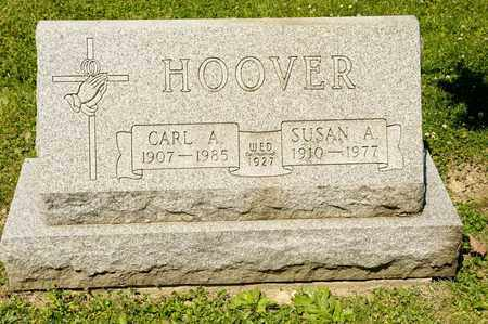 HOOVER, CARL A - Richland County, Ohio | CARL A HOOVER - Ohio Gravestone Photos