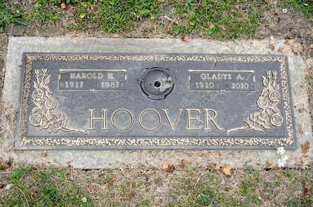 HOOVER, GLADYS A - Richland County, Ohio | GLADYS A HOOVER - Ohio Gravestone Photos