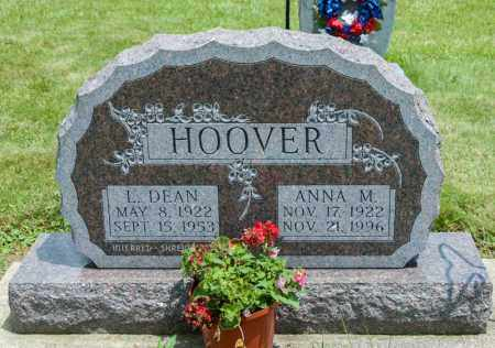 HOOVER, L DEAN - Richland County, Ohio | L DEAN HOOVER - Ohio Gravestone Photos