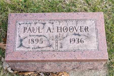 HOOVER, PAUL A - Richland County, Ohio | PAUL A HOOVER - Ohio Gravestone Photos