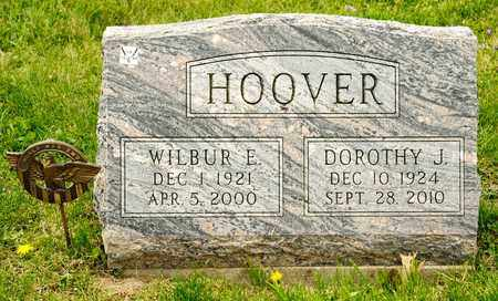 HOOVER, WILBUR E - Richland County, Ohio | WILBUR E HOOVER - Ohio Gravestone Photos