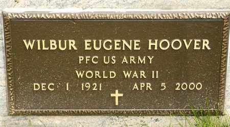 HOOVER, WILBUR EUGENE - Richland County, Ohio | WILBUR EUGENE HOOVER - Ohio Gravestone Photos