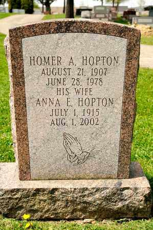 HOPTON, HOMER A - Richland County, Ohio | HOMER A HOPTON - Ohio Gravestone Photos