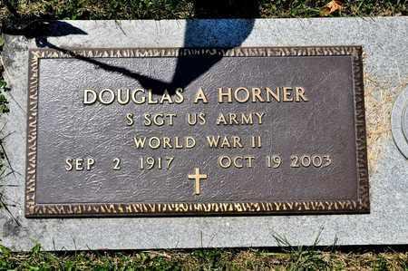 HORNER, DOUGLAS A - Richland County, Ohio | DOUGLAS A HORNER - Ohio Gravestone Photos