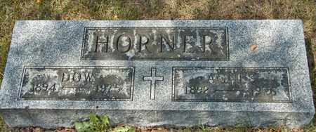 HORNER, AGNES - Richland County, Ohio | AGNES HORNER - Ohio Gravestone Photos