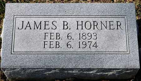 HORNER, JAMES B - Richland County, Ohio | JAMES B HORNER - Ohio Gravestone Photos
