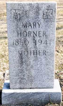 HORNER, MARY - Richland County, Ohio | MARY HORNER - Ohio Gravestone Photos