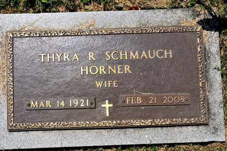 SCHMAUCH HORNER, THYRA R - Richland County, Ohio | THYRA R SCHMAUCH HORNER - Ohio Gravestone Photos