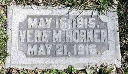 HORNER, VERA M - Richland County, Ohio | VERA M HORNER - Ohio Gravestone Photos