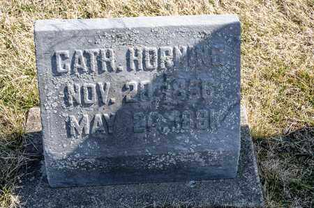 HORNING, CATHERINE - Richland County, Ohio | CATHERINE HORNING - Ohio Gravestone Photos
