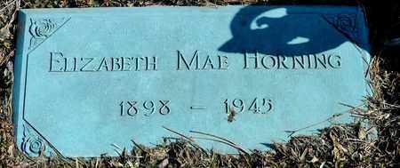 HORNING, ELIZABETH MAE - Richland County, Ohio | ELIZABETH MAE HORNING - Ohio Gravestone Photos
