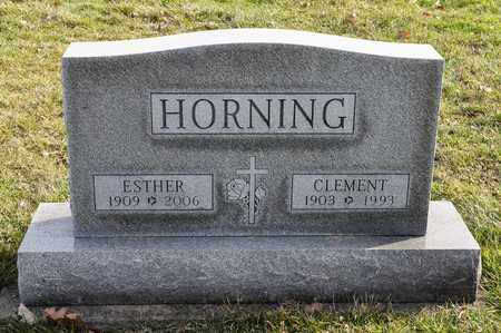 HORNING, CLEMENT - Richland County, Ohio | CLEMENT HORNING - Ohio Gravestone Photos