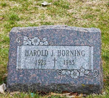 HORNING, HAROLD J - Richland County, Ohio | HAROLD J HORNING - Ohio Gravestone Photos