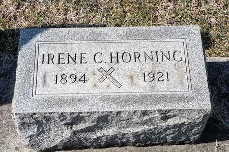 HORNING, IRENE C - Richland County, Ohio | IRENE C HORNING - Ohio Gravestone Photos
