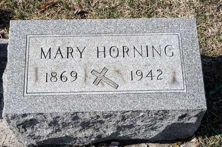 HORNING, MARY - Richland County, Ohio | MARY HORNING - Ohio Gravestone Photos