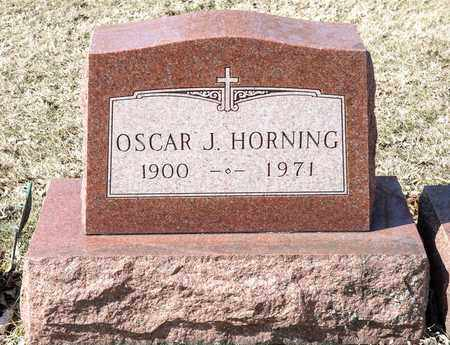 HORNING, OSCAR J - Richland County, Ohio | OSCAR J HORNING - Ohio Gravestone Photos