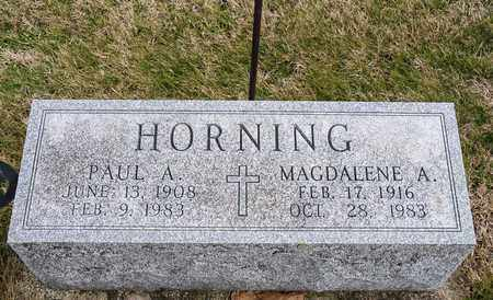 HORNING, MAGDALENE A - Richland County, Ohio | MAGDALENE A HORNING - Ohio Gravestone Photos