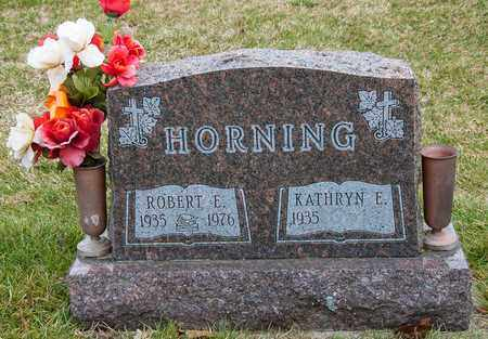 HORNING, ROBERT E - Richland County, Ohio | ROBERT E HORNING - Ohio Gravestone Photos