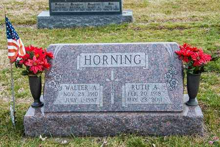 HORNING, RUTH A - Richland County, Ohio | RUTH A HORNING - Ohio Gravestone Photos