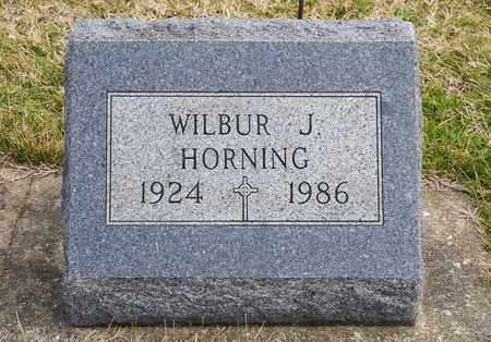 HORNING, WILBUR J - Richland County, Ohio | WILBUR J HORNING - Ohio Gravestone Photos