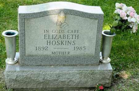 HOSKINS, ELIZABETH - Richland County, Ohio | ELIZABETH HOSKINS - Ohio Gravestone Photos