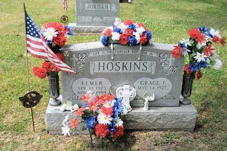 HOSKINS, ELMER - Richland County, Ohio | ELMER HOSKINS - Ohio Gravestone Photos