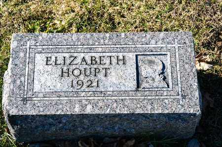 HOUPT, ELIZABETH - Richland County, Ohio | ELIZABETH HOUPT - Ohio Gravestone Photos