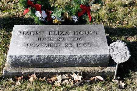 HOUPT, NAOMI ELIZA - Richland County, Ohio | NAOMI ELIZA HOUPT - Ohio Gravestone Photos