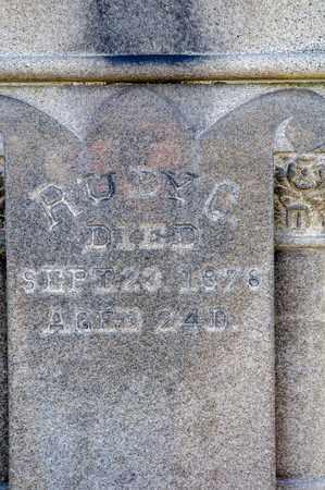 HOUPT, RUBY C - Richland County, Ohio | RUBY C HOUPT - Ohio Gravestone Photos