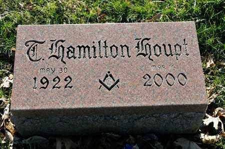 HOUPT, T HAMILTON - Richland County, Ohio | T HAMILTON HOUPT - Ohio Gravestone Photos