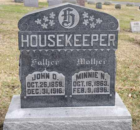 HOUSEKEEPER, MINNIE N - Richland County, Ohio | MINNIE N HOUSEKEEPER - Ohio Gravestone Photos